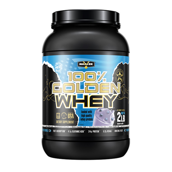 100% Golden whey 2lb