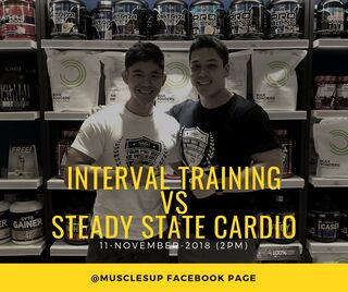 Interval trainingvsSteady state Cardio