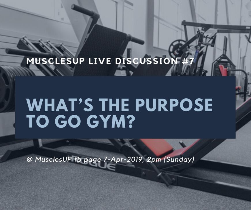 What's the purpose to go gym